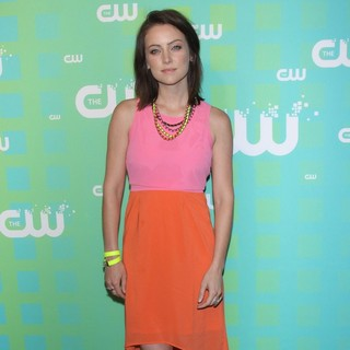 Jessica Stroup in 2012 The CW Upfront Presentation