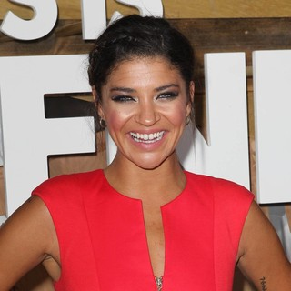 Jessica Szohr in Los Angeles Premiere of This Is the End