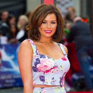 Jessica Wright in World Premiere of The Amazing Spider-Man 2 - Arrivals