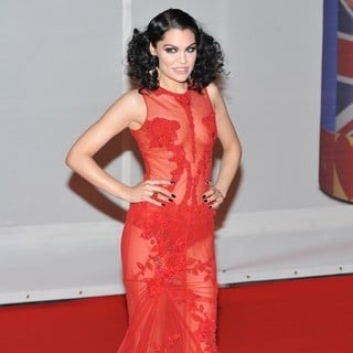 Jessie J in The BRIT Awards 2012 - Arrivals