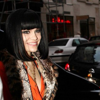 Jessie J in Jessie J Outside The VIP Nightclub After Her Performance