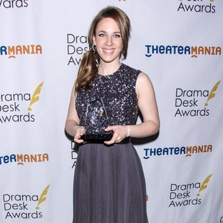 Jessie Mueller in 2014 Drama Desk Awards - Press Room