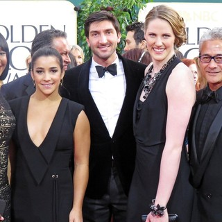 Carmelita Jeter, Aly Raisman, Evan Lysacek, Missy Franklin, Greg Louganis in 70th Annual Golden Globe Awards - Arrivals