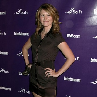 Jewel Staite in Sci-Fi Channel Party