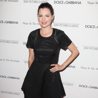 Jill Flint in New York Premiere of Magic in the Moonlight - Arrivals