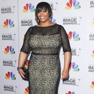 Jill Scott in The 43rd Annual NAACP Awards - Arrivals