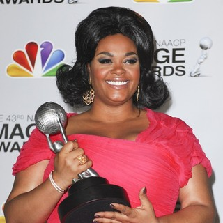 Jill Scott in The 43rd Annual NAACP Awards - Press Room