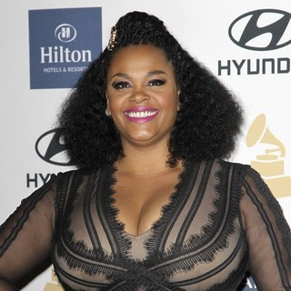 Jill Scott in Clive Davis and The Recording Academy's 2013 Pre-Grammy Gala and Salute to Industry Icons