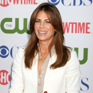 Jillian Michaels in CBS, The CW and Showtime TCA Party