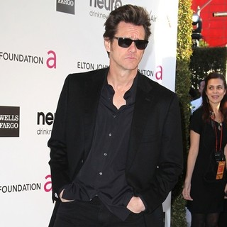 Jim Carrey in 21st Annual Elton John AIDS Foundation's Oscar Viewing Party