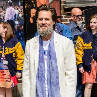 Jim Carrey for The Late Show with David Letterman
