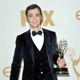 Jim Parsons in The 63rd Primetime Emmy Awards - Press Room