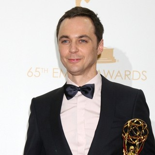 Jim Parsons in 65th Annual Primetime Emmy Awards - Press Room