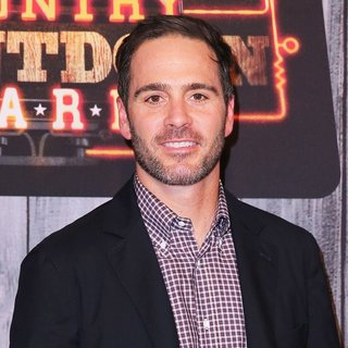 Jimmie Johnson in 2014 American Country Countdown Awards - Red Carpet Arrivals