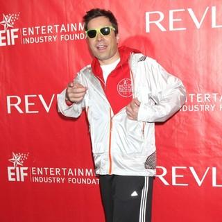 Jimmy Fallon in The 15th Annual EIF REVLON Run-Walk for Women on The Streets of Manhattan