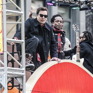 Jimmy Fallon in 86th Annual Macy's Thanksgiving Day Parade