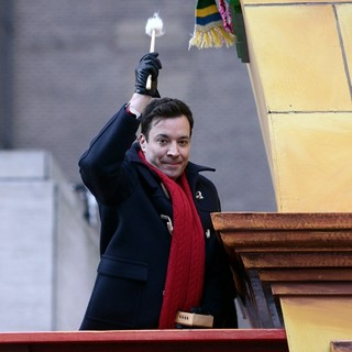 Jimmy Fallon in 87th Macy's Thanksgiving Day Parade