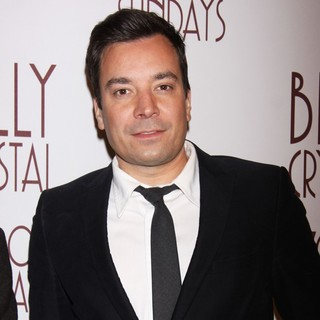 Jimmy Fallon in Opening Night of Broadway's 700 Sundays - Arrivals