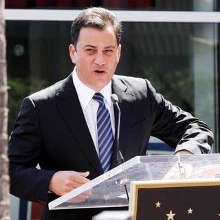 Jimmy Kimmel in Ellen DeGeneres Is Honored with A Star on The Hollywood Walk of Fame