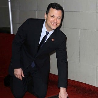Jimmy Kimmel in Jimmy Kimmel Honored with A Star on The Hollywood Walk of Fame