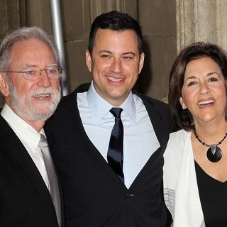 Jim Kimmel, Jimmy Kimmel, Joan Kimmel in Jimmy Kimmel Honored with A Star on The Hollywood Walk of Fame