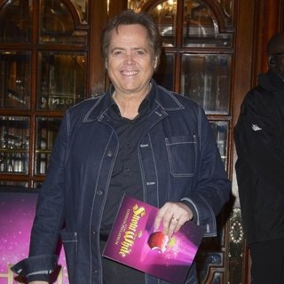 Jimmy Osmond in Snow White Press Night - Arrivals