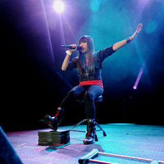 Charice in The 2010 Q102 Jingle Ball