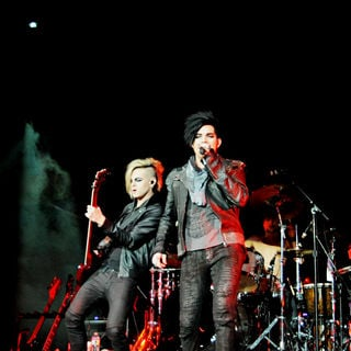 Adam Lambert in The 2010 Q102 Jingle Ball