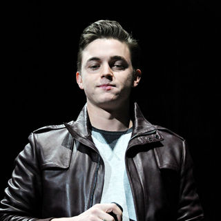 Jesse McCartney in The 2010 Q102 Jingle Ball