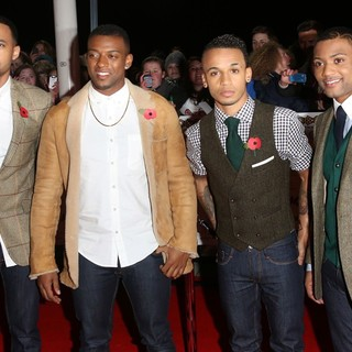 JLS in The MOBO Awards 2012 - Arrivals