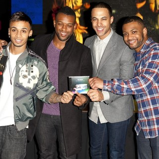 JLS Sign Copies of Their Album Goodbye: Greatest Hits