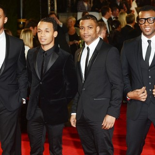 JLS in World Premiere of Skyfall - Arrivals