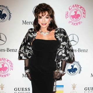 Joan Collins in 26th Anniversary Carousel of Hope Ball - Presented by Mercedes-Benz - Arrivals