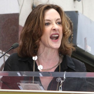 Joan Cusack in John Cusack Honored with A Star on The Hollywood Walk of Fame