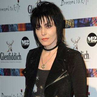 Joan Jett in 2010 Dressed to Kilt Charity Fashion Show - Arrivals