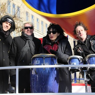 Joan Jett in 87th Macy's Thanksgiving Day Parade