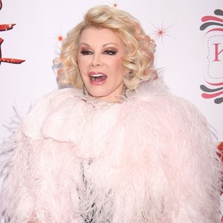 Joan Rivers in The Broadway Premiere of Kinky Boots - Arrivals