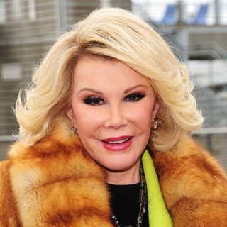 Joan Rivers in Ride of Fame Campaign Launch