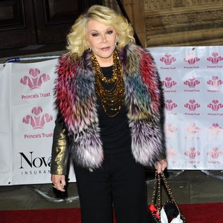 Joan Rivers in The Princes' Trust Comedy Gala