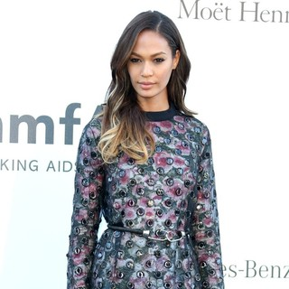 Joan Smalls in 66th Cannes Film Festival - amfAR's 20th Annual Cinema Against AIDS - Arrivals