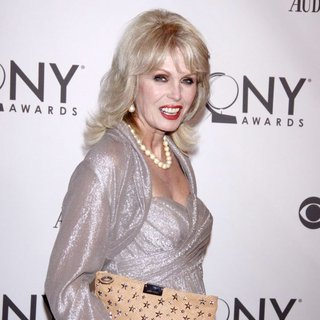 Joanna Lumley in The 65th Annual Tony Awards - Arrivals