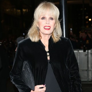 Joanna Lumley in VIVA Forever Spice Girls The Musical - Arrivals