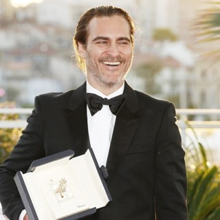 Joaquin Phoenix in 70th Annual Cannes Film Festival - Award Winners - Photocall
