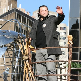 Joba Chamberlain in Macy's 85th Annual Thanksgiving Day Parade