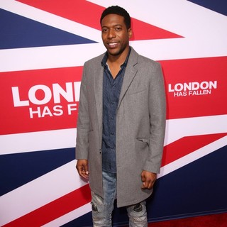 Jocko Sims in Premiere of Focus Features' London Has Fallen - Arrivals