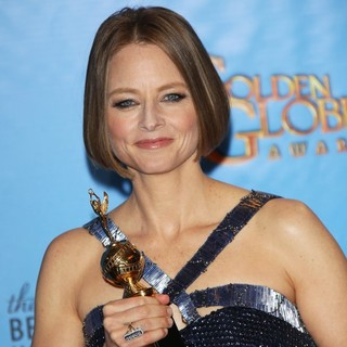 Jodie Foster in 70th Annual Golden Globe Awards - Press Room