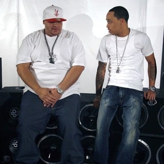 Fat Joe, Cory Gunz in On The Set of A New Music Video for Rapper Fred The Godson