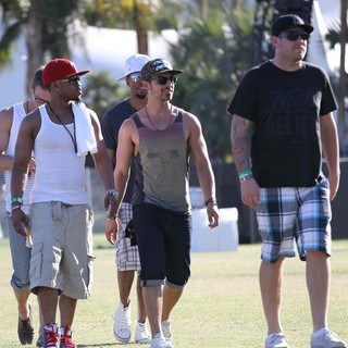 Jonas Brothers - Celebrities at The 2012 Coachella Valley Music and Arts Festival - Week 2 Day 1