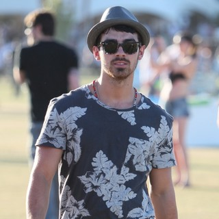 Joe Jonas, Jonas Brothers in Celebrities at The 2012 Coachella Valley Music and Arts Festival - Week 2 Day 2