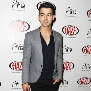 Joe Jonas, Jonas Brothers in Joe Jonas at Haze Nightclub